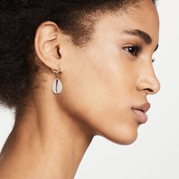 LYB Jewelry - Cowrie Shell Earrings